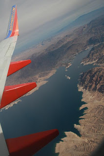 Aerial View of Lake Mead, NV