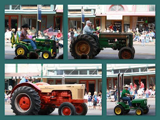 Tractors in Collage