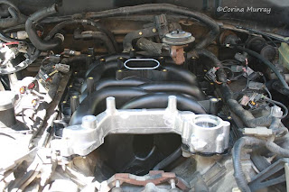 New Ford Intake Manifold Installed
