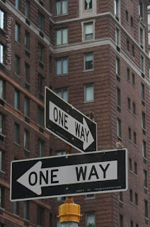 New York: One Way Signs