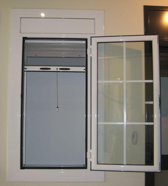 Detodounpoco ventana aluminio practicable con cuarterones - Bentanas de aluminio ...