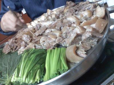 단고기 수육