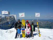 The Traveler Family at Mount Titlis
