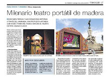 """Nota de prensa Diario """"El Comercio"""" - Lima, Perú"""
