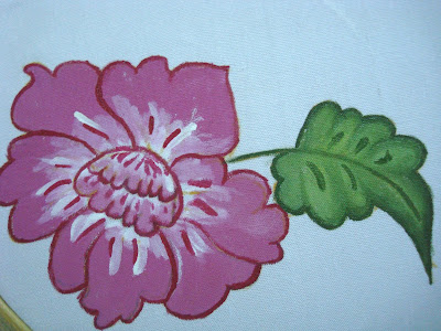 1st Handson Of Fabric Painting