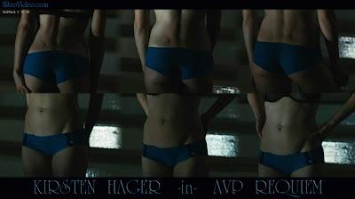 sexy Kristen Hager bikini ass alien