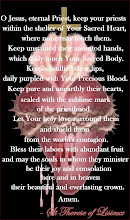St Therese's daily prayer for Priests