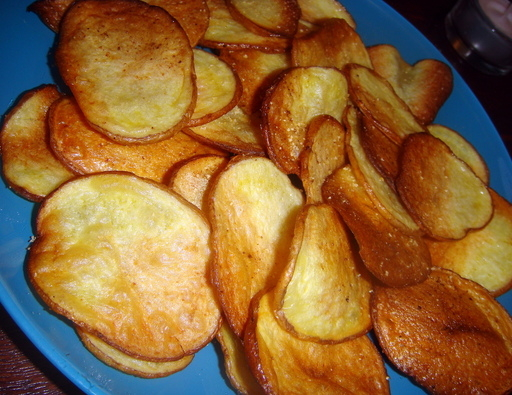 The Adventures of Mary, Marty, and Jack: Homemade Potato Chips!