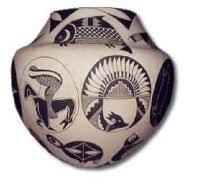 Native American Vase