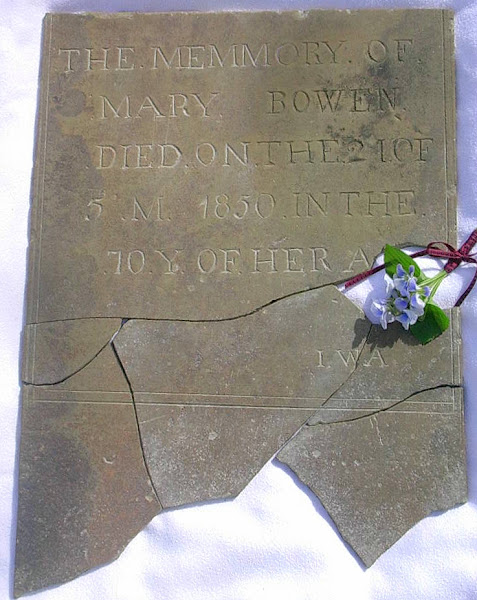 Mary (FISHER) BOWEN's headstone