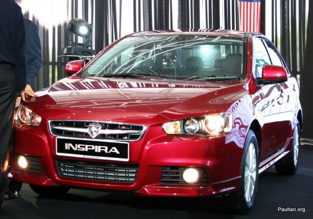 was the launch of much-talked-about-waja-replacement Proton Inspira