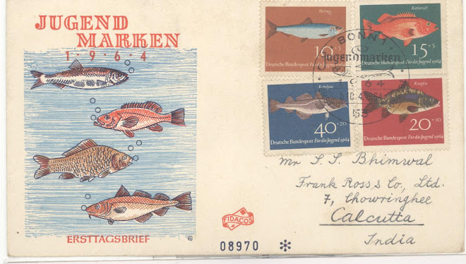 Fish First daycover from Germany