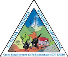 Logotipo del Grupo Expedicionario de Radioaficionados ECO RADIO