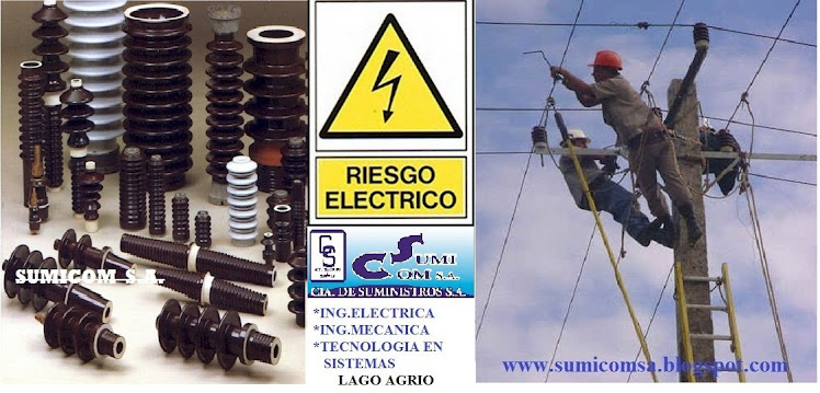 MATERIAL ELECTRICO EN ALTA - BAJA Y MEDIA TENSION