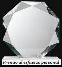 Premio al Esfuezo Personal