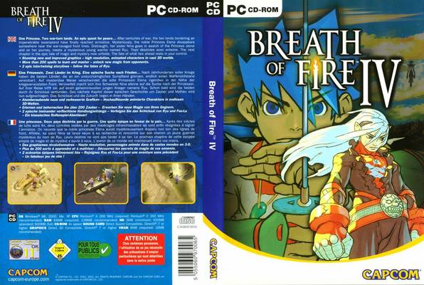breath of fire psp