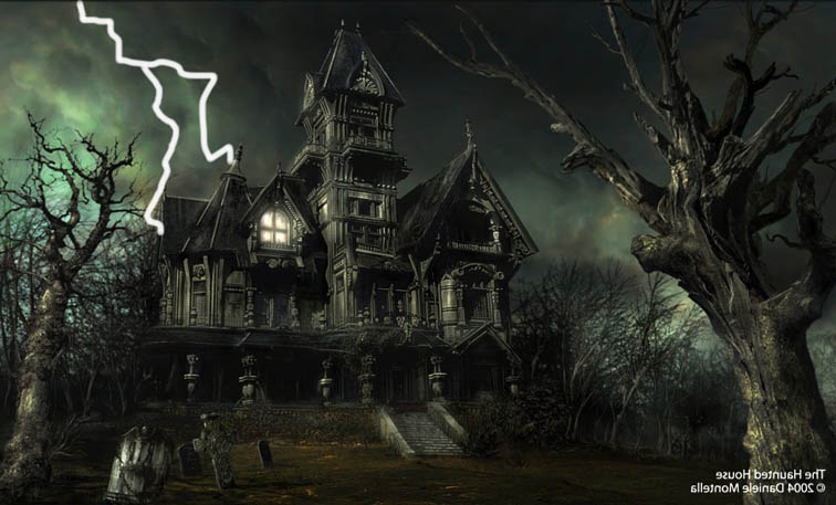 big haunted house