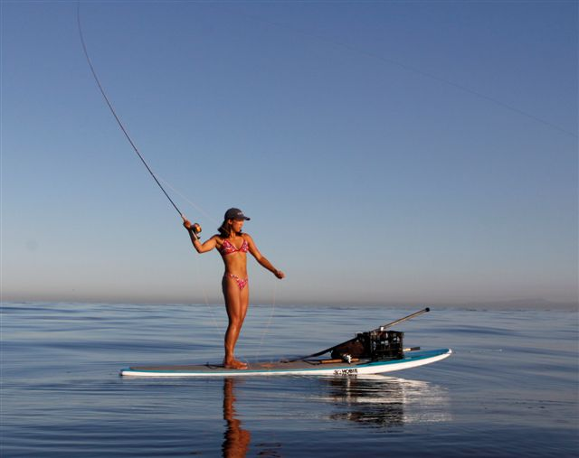 Fly fishing in yellowstone national park don 39 t try this for Fly fishing paddle board