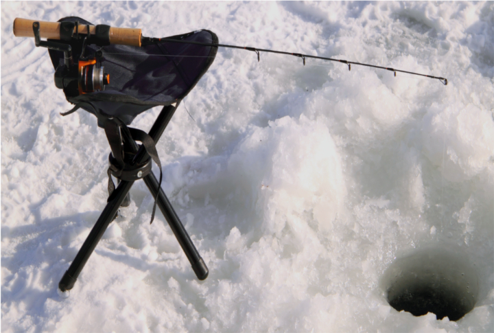 Fly fishing in yellowstone national park winter peril for Ice fishing flies