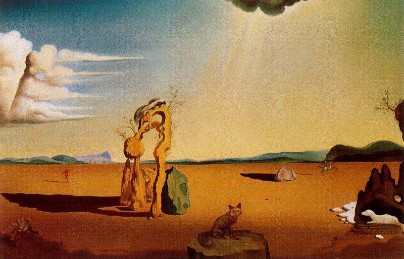 Desnudo en el desierto dvd