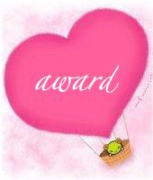 En nog een lieve award van Cora