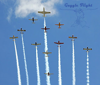 Spruce Creek Gaggle formation flight