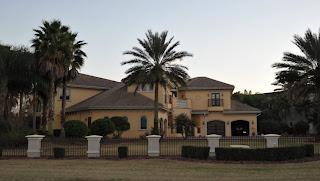 Mike Skinner's former Spruce Creek Mansion