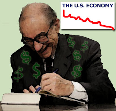 The Great Greenspan Depression of the Millennium - Cashing in