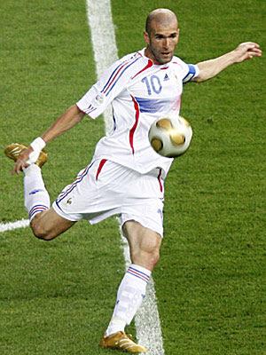 Futbolista Zinedine Zidane