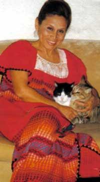 Actriz Irma Maury