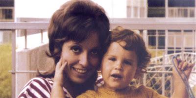 Regina Alcóver y Gian Marco de bebe