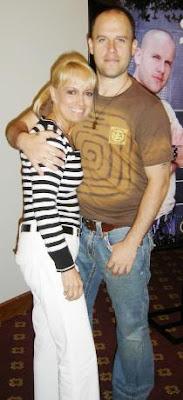 Regina Alcover con su hijo Gian Marco