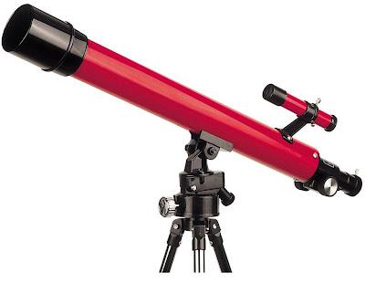 Foto de un telescopio