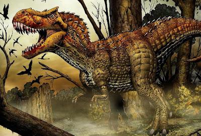 Tiranosaurio furioso