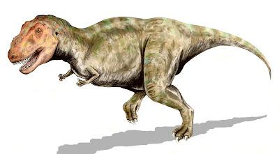 Imagen del tiranosaurio