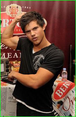 Taylor Lautner estadounidense