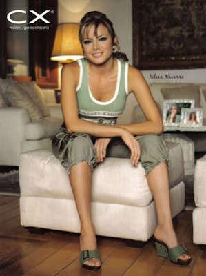 Actriz Silvia Navarro