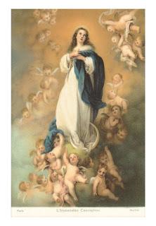 Cuadro de la Inmaculada Concepción de Murillo