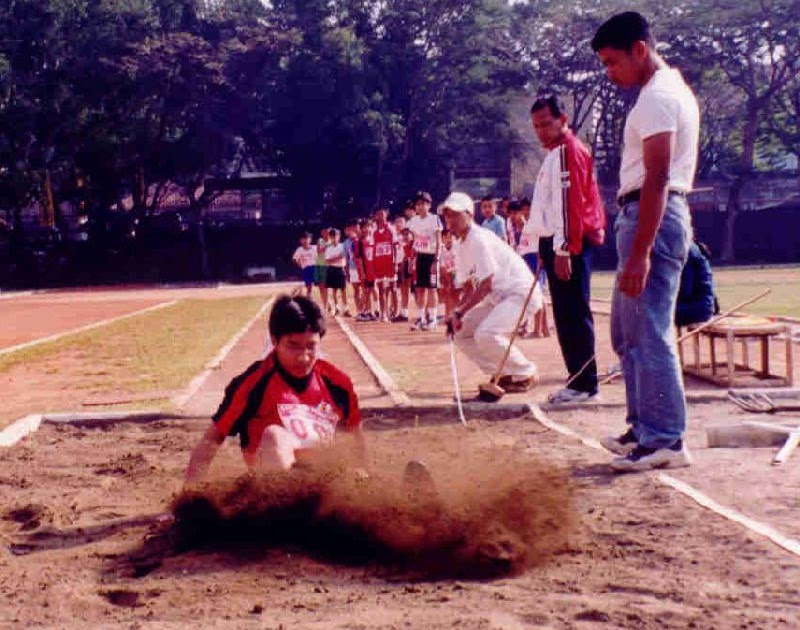 atletik: Nomor lompat
