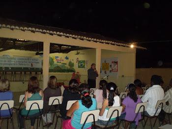 PALESTRA SOBRE EDUCAÇÃO E FAMÍLIA