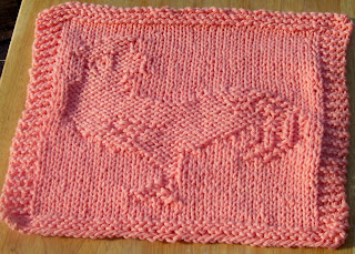 Lace Dishcloth Knitting Pattern : DISHCLOTH PATTERN TO KNIT Free Patterns