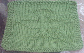 Dove Knitting Pattern : DigKnitty Designs: Dove Of Peace Knit Dischcloth Pattern