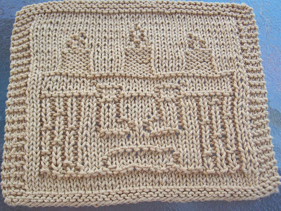 Knit Dishcloth Pattern Free Image Collections Knitting Patterns