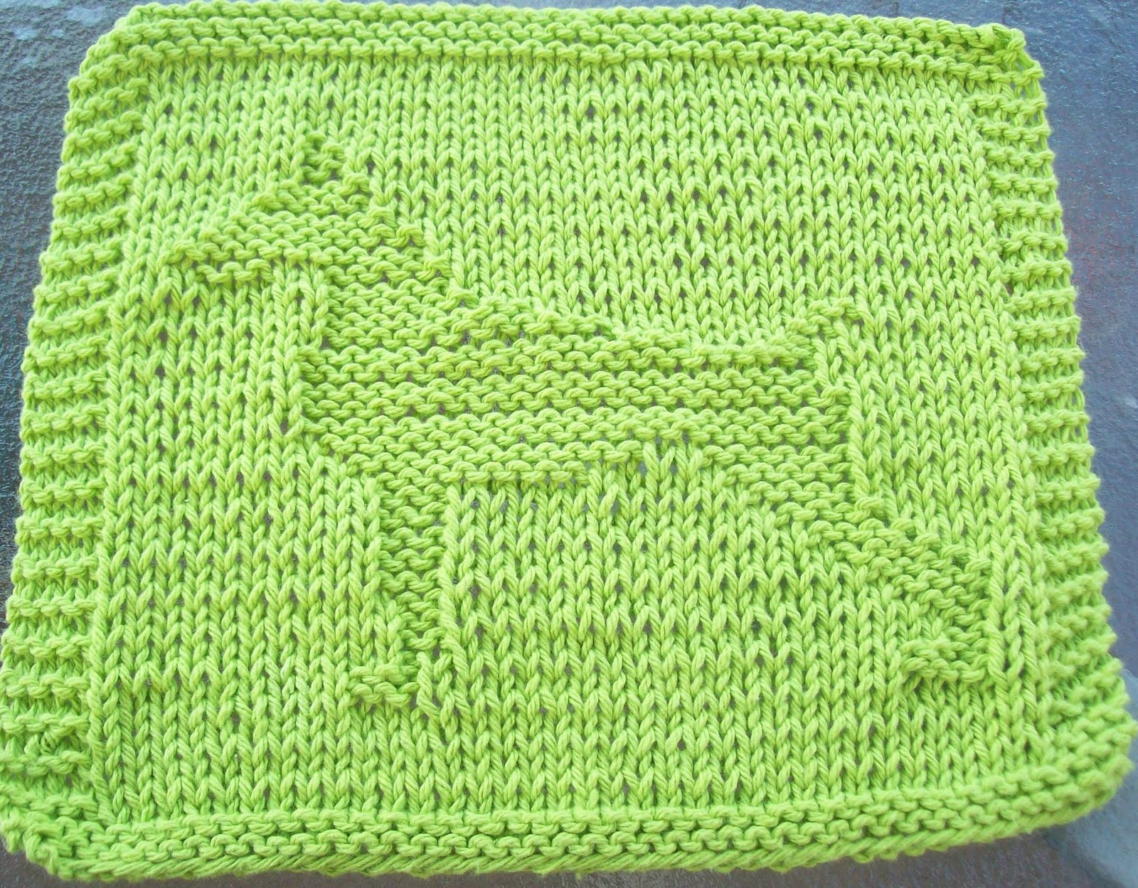 KNIT WASHCLOTHS PATTERNS   Free Patterns