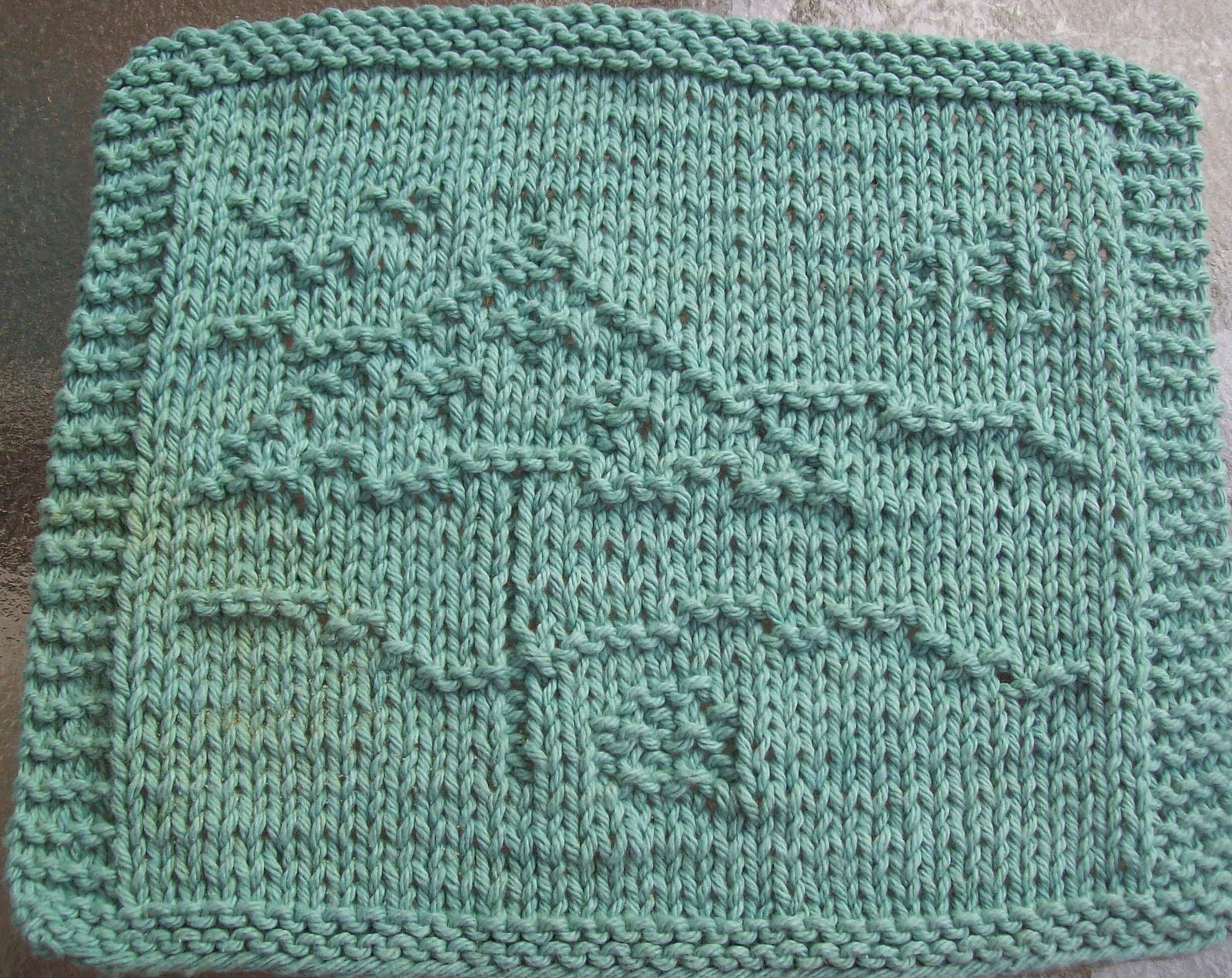 Umbrella Knitting Pattern : Digknitty designs beach umbrella too knit dishcloth pattern