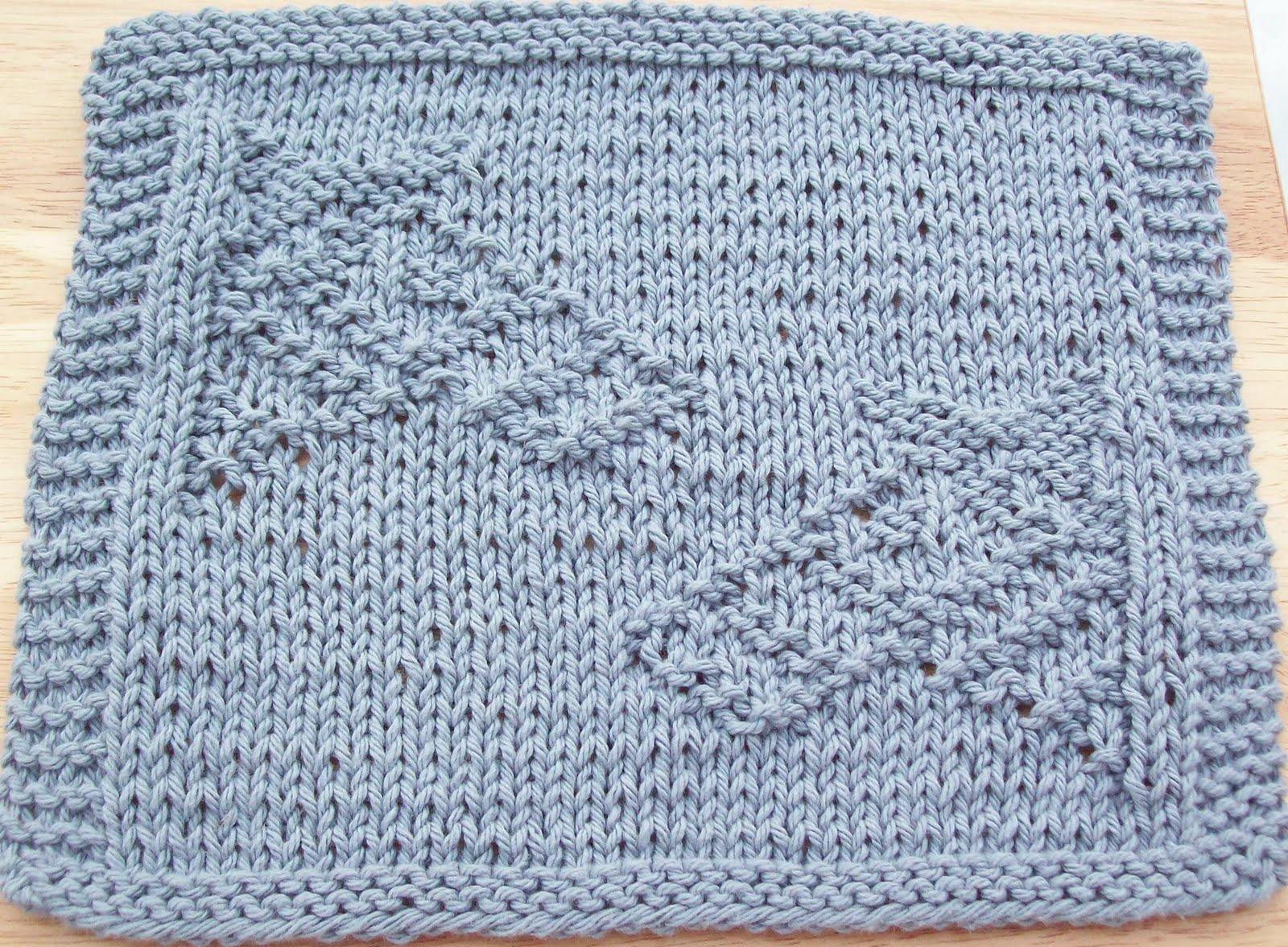 DigKnitty Designs: Noahs Ark Zebras Knit Dishcloth Pattern