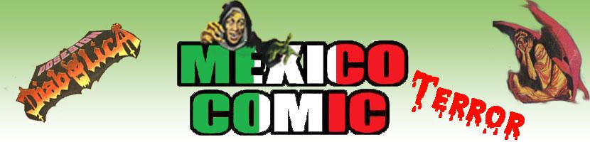 Mexico Comic Terror