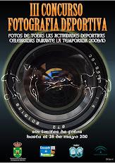 III CONCURSO FOTOGRAFÍA DEPORTIVA