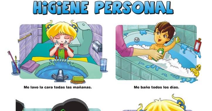 : CARTELES , IMÁGENES Y VÍDEOS sobre higiene personal para niños