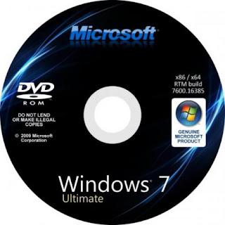 Windows 7 SP1 Ultimate 32\u002664 bit Genuine ISO - Torrent CD